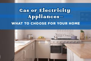 Gas or Electricity Appliances