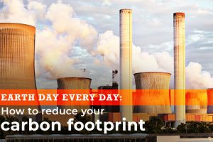 Earth day every day: How to reduce your carbon footprint