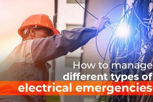 different types of electrical emergencies