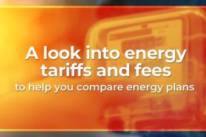 energy tariffs and fees