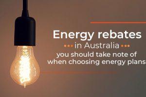 Energy Rebates in Australia